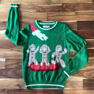 Tipsy Elves Gingerbread Holiday Christmas SWEATER
